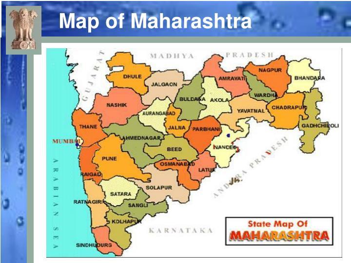Map of Maharashtra
