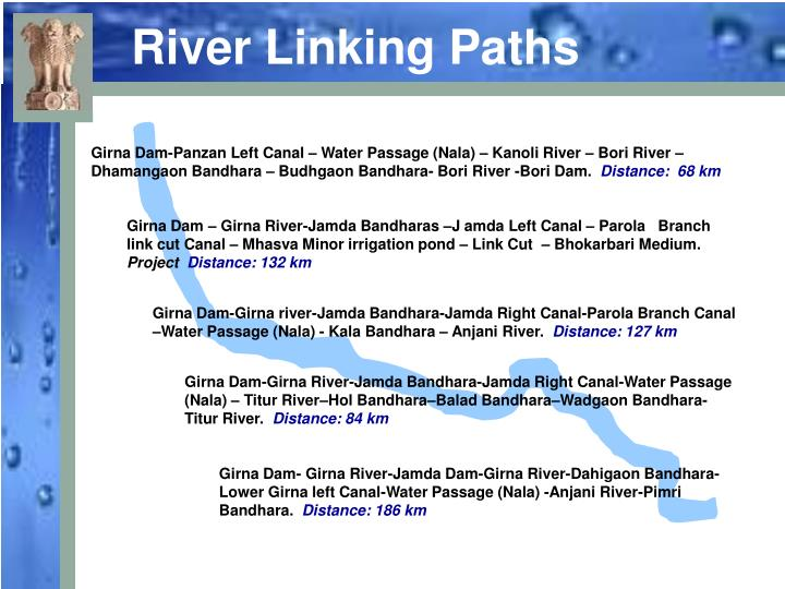 River Linking Paths