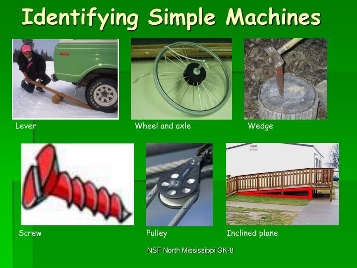 Identifying Simple Machines