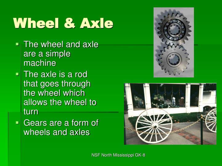 Wheel & Axle