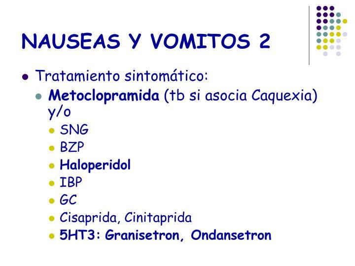 NAUSEAS Y VOMITOS 2