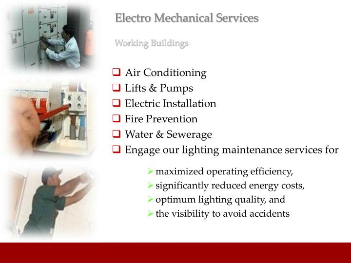 Electro Mechanical Services