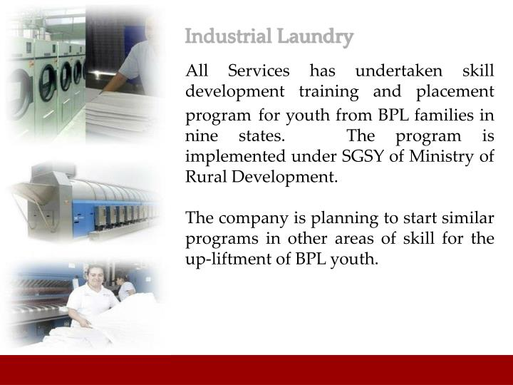 Industrial Laundry