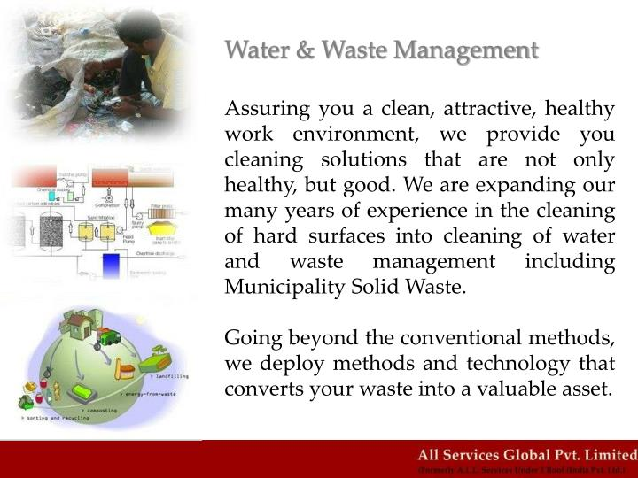 Water & Waste Management