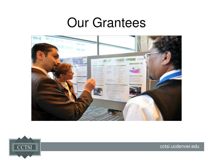 Our Grantees