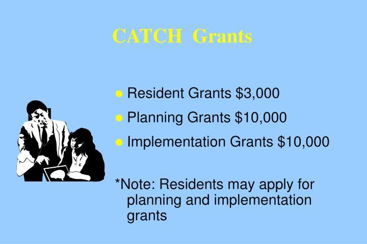 CATCH  Grants