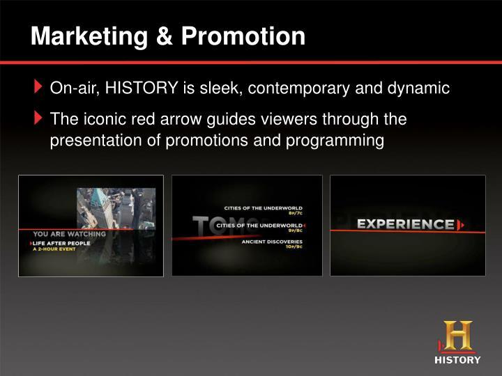 Marketing & Promotion