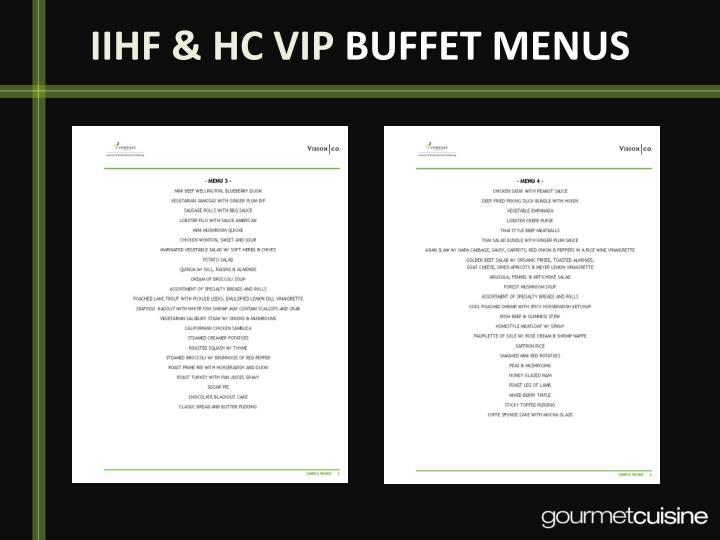 IIHF & HC VIP