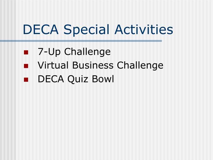 DECA Special Activities