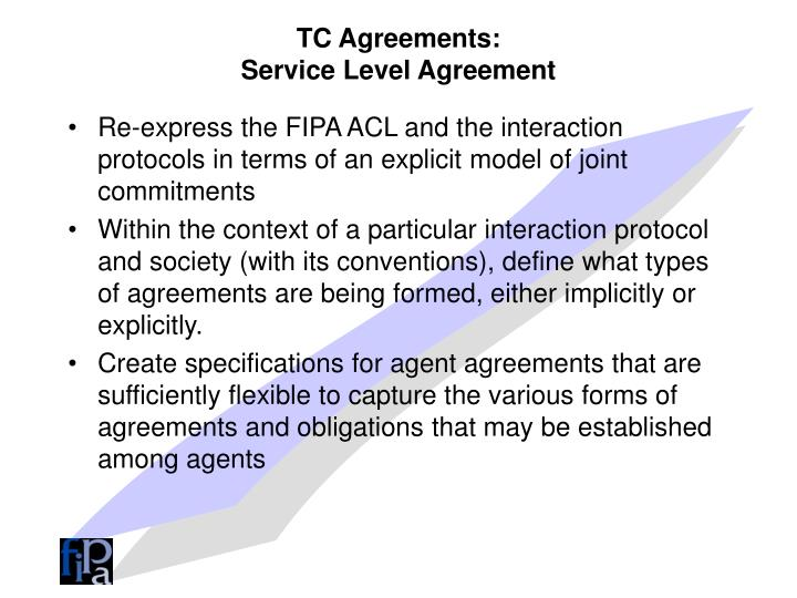 TC Agreements: