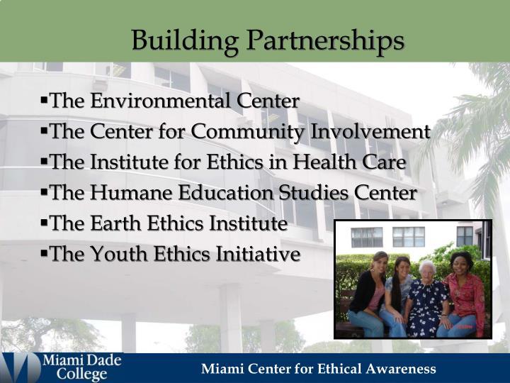 Building Partnerships