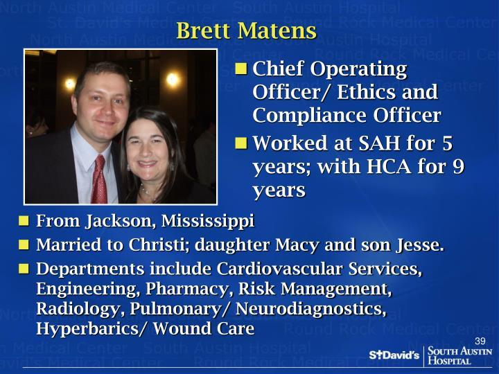 Brett Matens