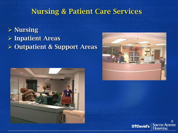 Nursing & Patient Care Services