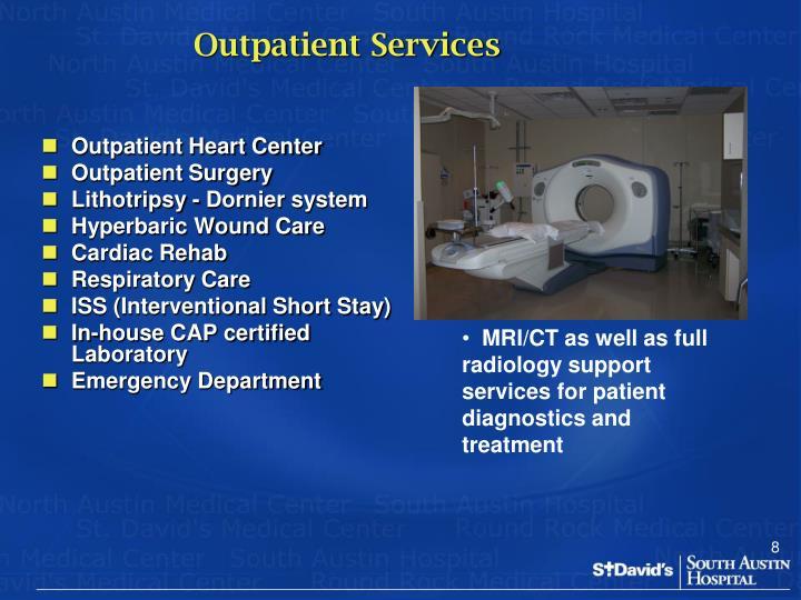 Outpatient Services