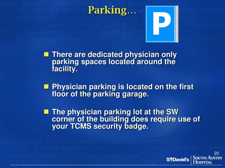 Parking…