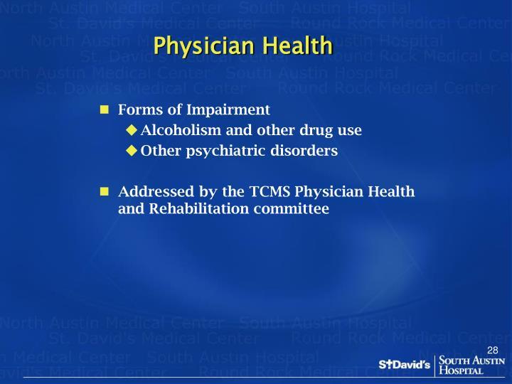 Physician Health