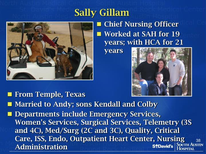 Sally Gillam