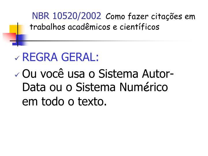 NBR 10520/2002