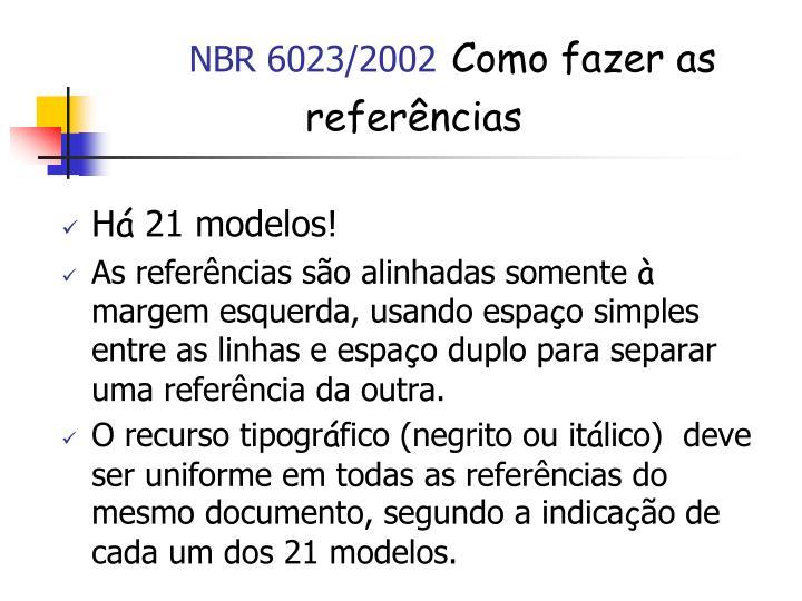 NBR 6023/2002