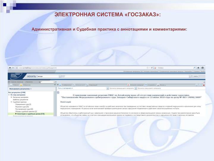 Административная и Судебная практика с аннотациями и комментариями: