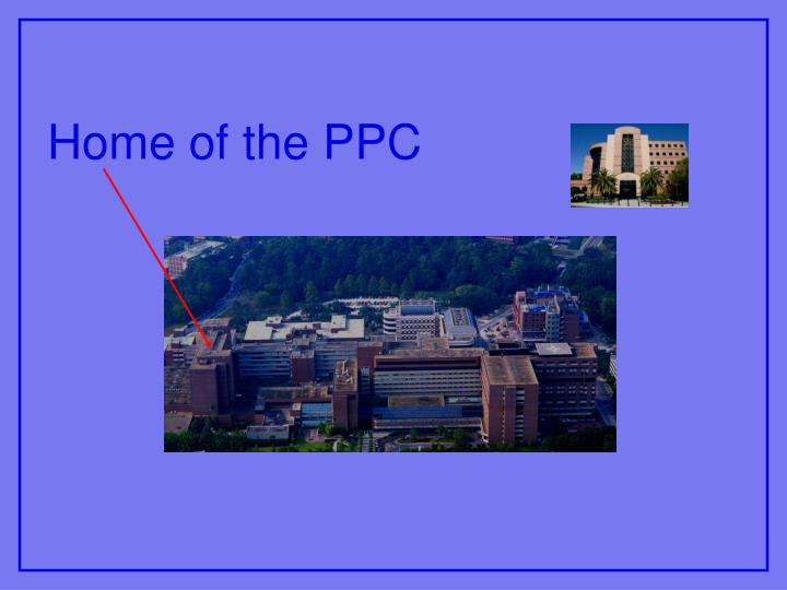 Home of the PPC