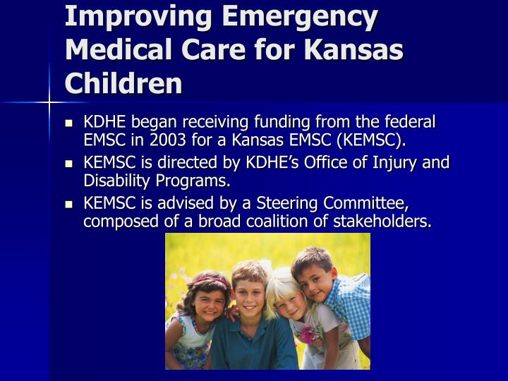 Improving Emergency Medical Care for Kansas Children