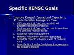 specific kemsc goals1