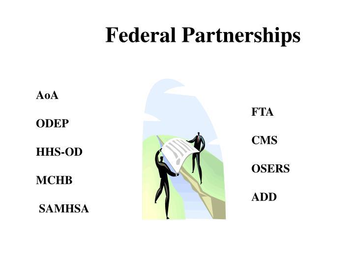 Federal Partnerships