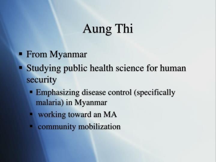 Aung Thi
