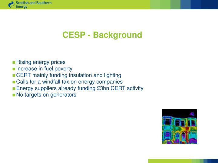CESP - Background