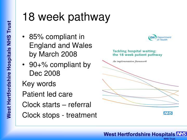 18 week pathway