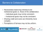 barriers to collaboration1