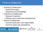 points of collaboration