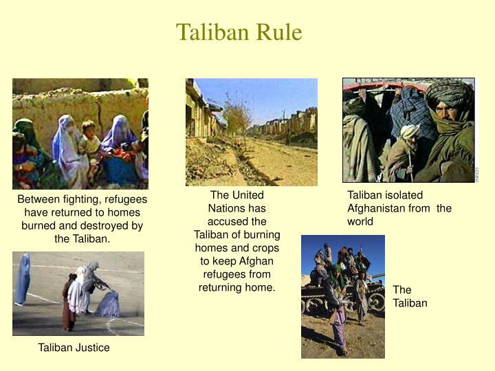 Taliban Rule