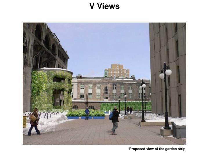 V Views