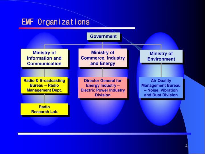 EMF Organizations