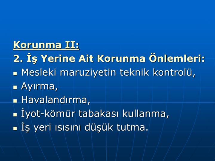 Korunma II: