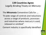 139 countries agree legally binding treaty on mercury