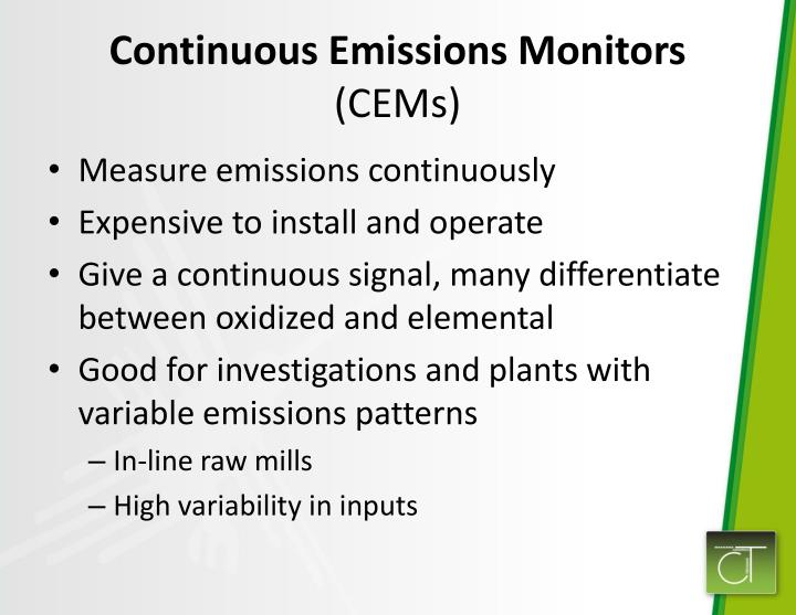Continuous Emissions Monitors