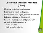 continuous emissions monitors cems