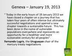 geneva january 19 2013
