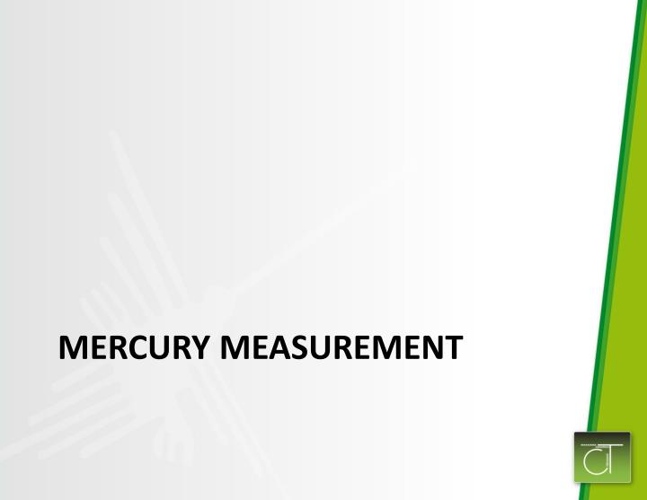 Mercury Measurement