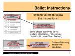ballot instructions
