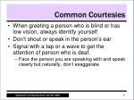 common courtesies1