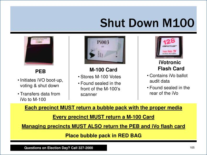 Shut Down M100