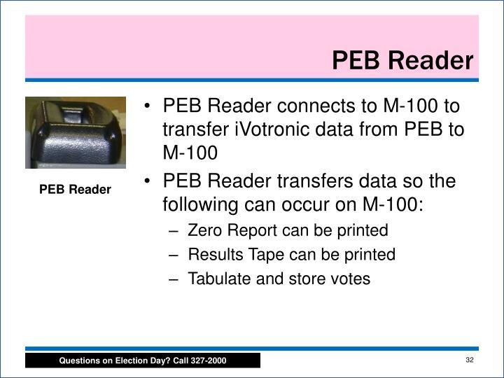 PEB Reader