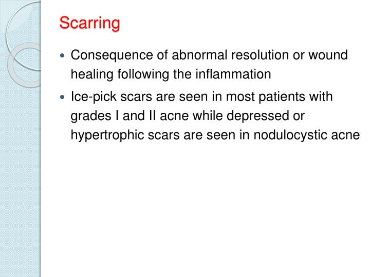 Scarring