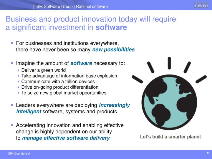 Business and product innovation today will require