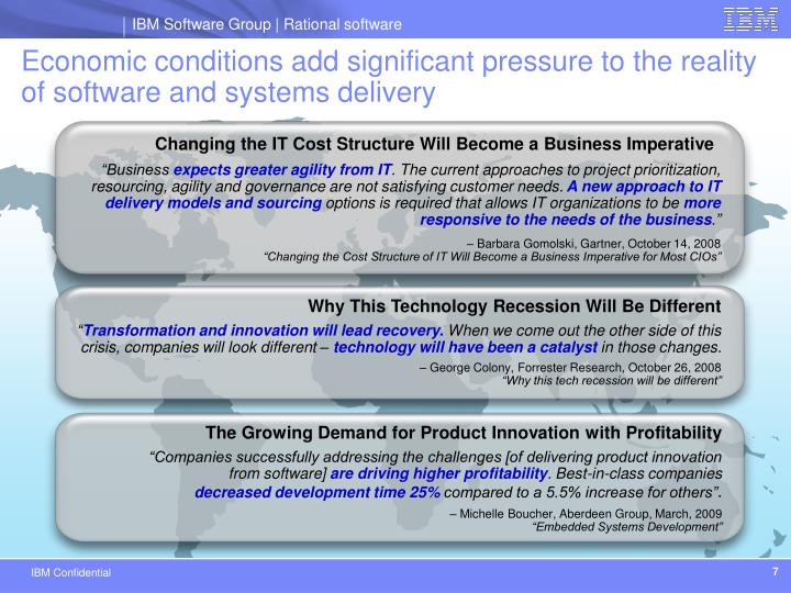 Changing the IT Cost Structure Will Become a Business Imperative