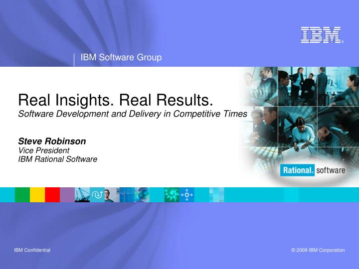 real insights real results software development and delivery in competitive times